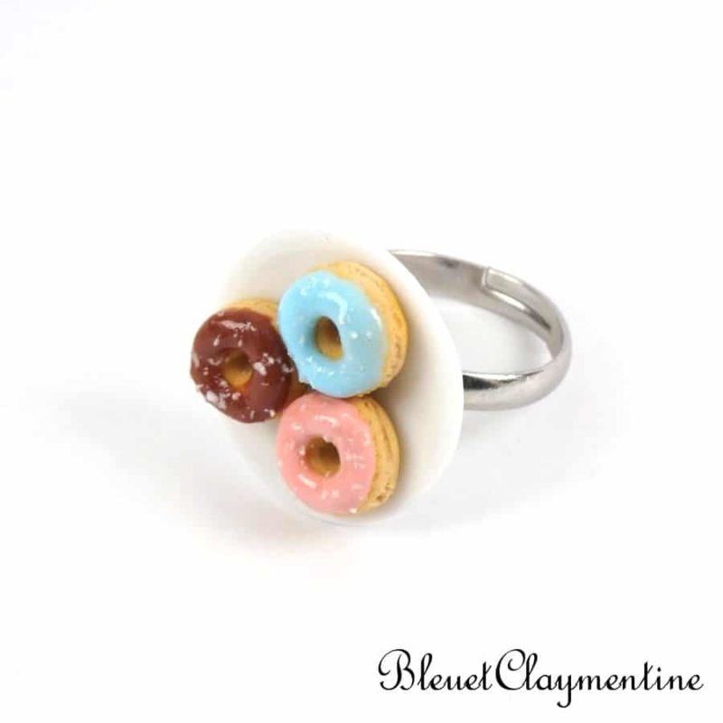 bague 3 donuts