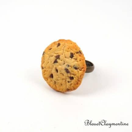 bague cookies polymère fimo