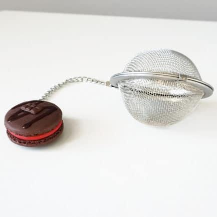 boule à thé macaron chocolat