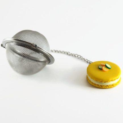 boule à thé macaron citron