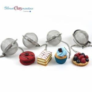 Boule à thé gourmande personnalisée – Différents modèles disponibles