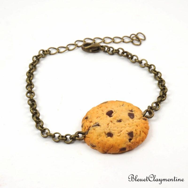 bracelet cookies polymère fimo