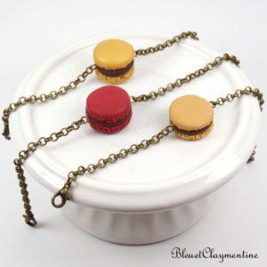 Bracelet macaron – Personnalisable – Différents modèles