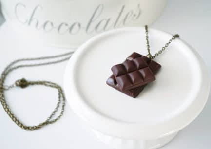 collier chocolat