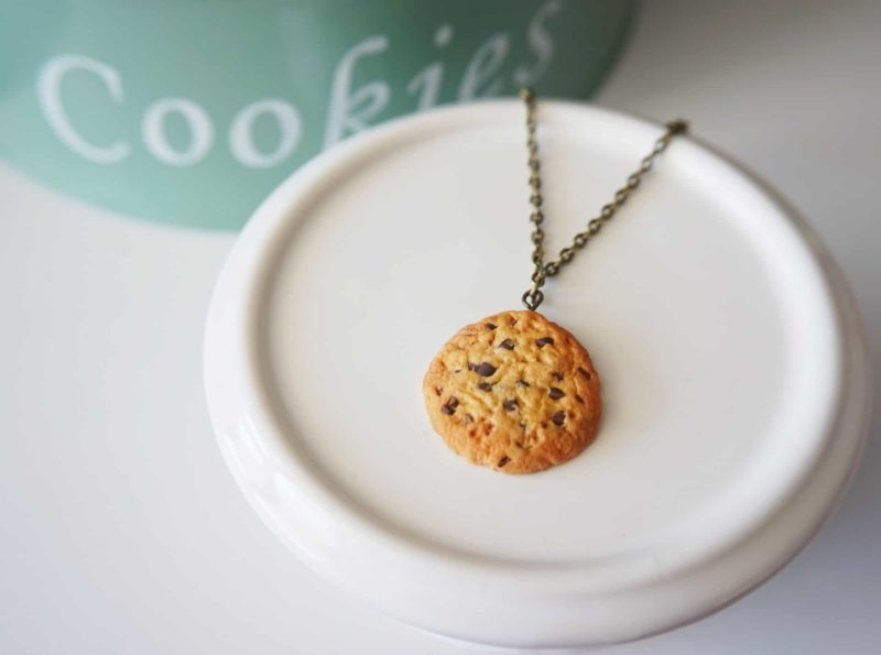 collier cookies fimo
