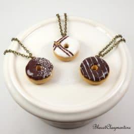 Collier Donut coulis – Couleur et décoration personnalisable