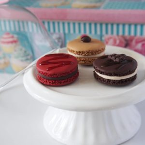 Porte-clés Macaron – Différents modèles et couleurs – Personnalisable
