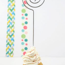 Porte-photo Cupcake – Marque place