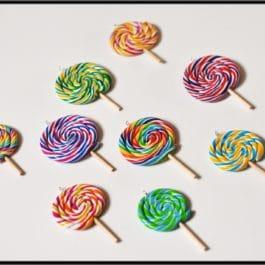 Collier lollipop – Différents modèles