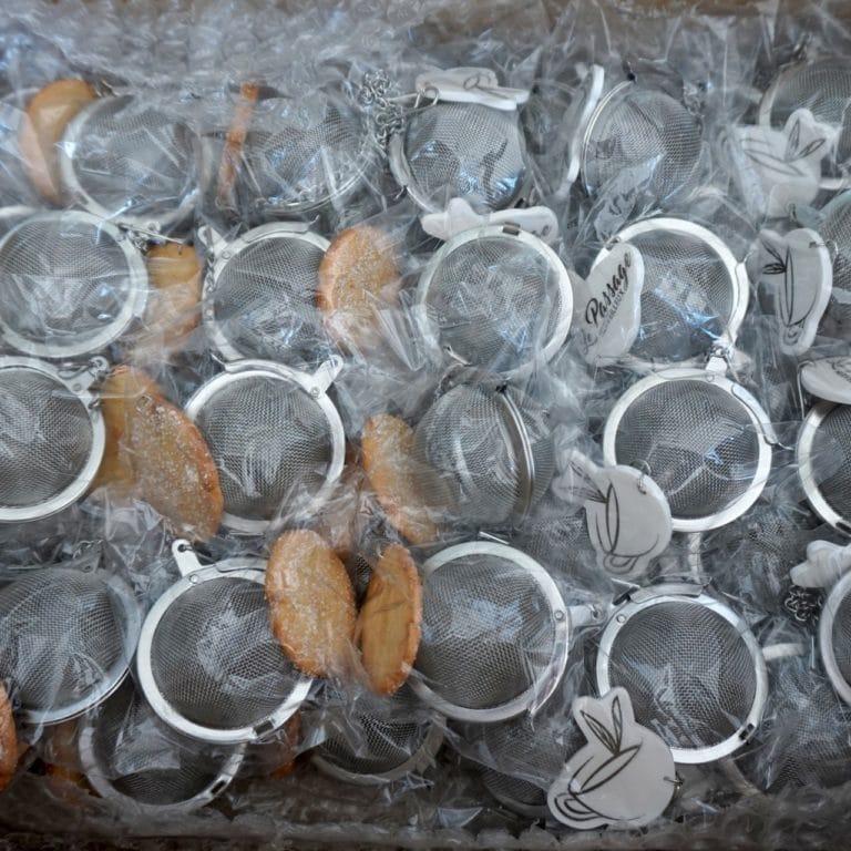 boules à thé biscuit polymère