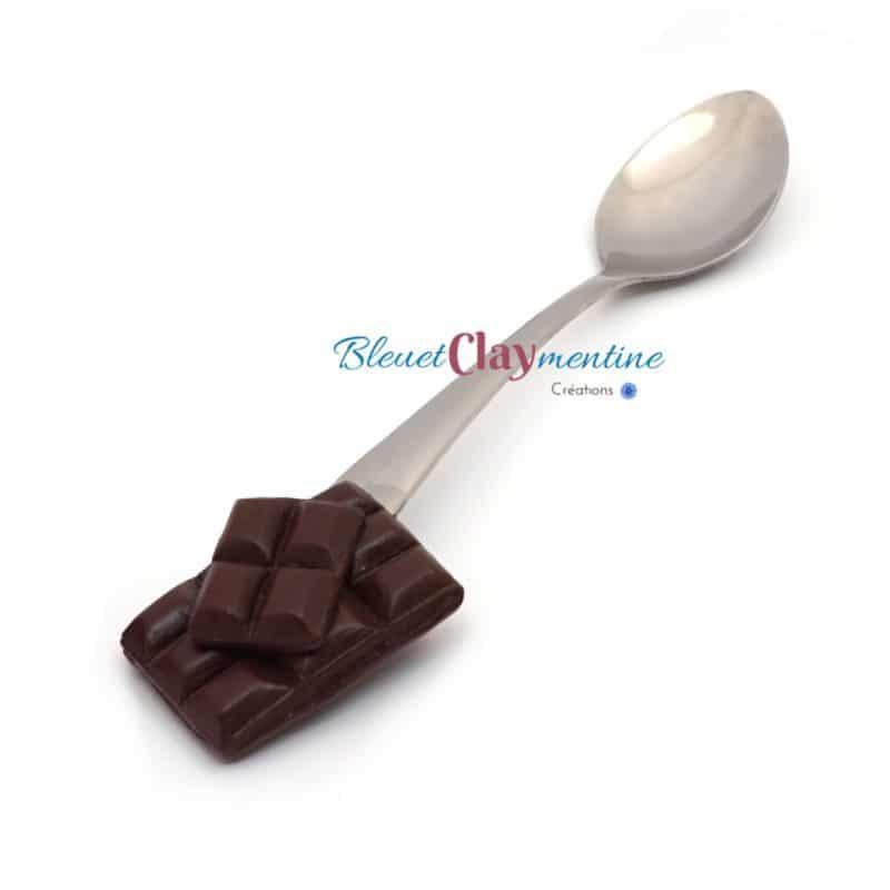 cuillères chocolat