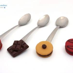 Cuillère Macaron – Cuillères à dessert personnalisables