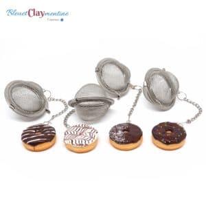 Boule à thé donut – Couleurs au choix